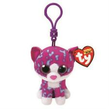 Ty Beanie Boo Key Clip Charlotte The Cat Claire'S Exclusive Mwmt Ih