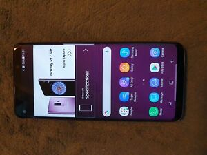 Samsung galaxy S9 live demo unit in good condition