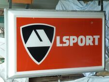 Alsport Dealer Outdoor Sign Rare Lighted 2 Sided ALSPORT TRISPORT Tri-Sport