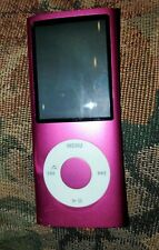 Apple iPod Nano 4th Generation 8GB A1285 Pink Good Condition Works