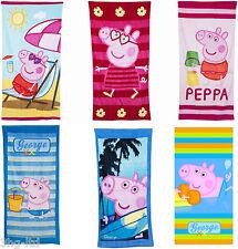 Toallas de baño y albornoces color principal azul de 100% algodón para niños