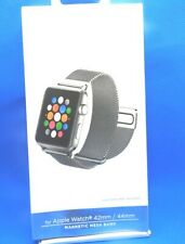 Platinum Apple Watch Magnetic Mesh Band 42mm/44mm |Silver| *FREE SHIP*
