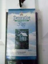 "Libbie Avenue Birdhouse Garden House Yard Flag - 29"" X 43"" - New In Package"