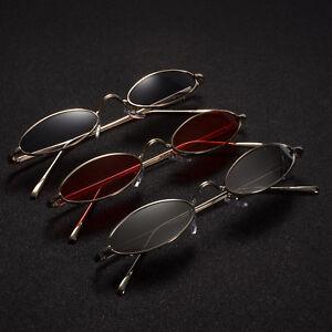 2018 Design Vintage Full Rim Men Womens Glasses Small Size Oval Sunglasses UV400