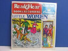 Vintage Little Women Read & Hear Record Talking Story Book Peter Pan 61o