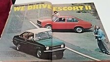Nov 1975 WHEELS Mag JAGUAR XJS Dolomite Sprint Audi Fox FORD ESCORT II