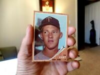 1962 Topps Baseball 21 Jim Kaat Twins 50/50 Centered Both Sides Sharp Corners NM