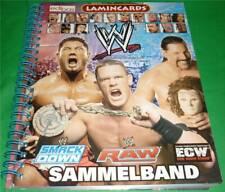 Edibas WWE Wrestling *LAMINCARDS 2006* KOMPLETT + Album Undertaker wwf nxt wcw