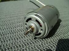 1 DC Motor 3-12 V, 460 Watt Spitzenleistung, 5 mm Welle, eingebautes Kühlgebläse