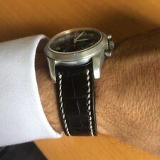 Girard Perregaux curve lug end crococalf watch strap Cheergiant 芝柏錶圓弧型錶耳鱷魚紋牛皮錶帶