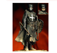 1/18 Resin Figure Model Kit Ancient Crusades Unassambled Unpainted DIY Toys 90mm