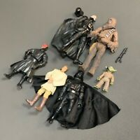 6PCS Star Wars Clone Yoda Jedi chewbacca Obi-wan Darth Vader Action Figure Toy