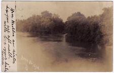 1905 RPPC Iron Bridge PA Westmoreland/Fayette Co. RARE UDB REAL PHOTO Postcard