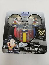 Pez Dispenser~2007 Limited Edition Disney Mickey Mouse 80 YEARS Pez Tin~Sealed