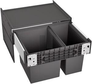 BLANCO SELECT II 60/2 Einbau Abfallsammler 1 x 30 l und 1 x 19 l Eimer 526203