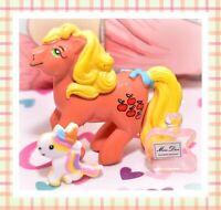 ❤️My Little Pony G1 Merchandise VTG MAIA BORGES Applejack Portugal PVC Figure❤️