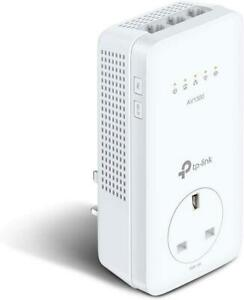 TP-Link TL-WPA8631P AV1300 Gigabit Passthrough Powerline ac Wi-Fi Extender UK