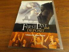 First, Last And Deposit (DVD, 2004) Jessica White Sara Wilcox RARE OOP