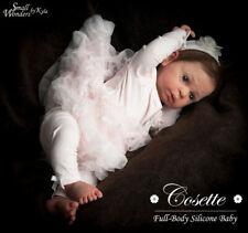 SILICONE Reborn Baby Cosette #3 *PRE-SALE- Small Wonders by Kyla - SWK Reborn
