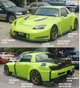 Honda S2000 Amuse GT style Full Wide Body Kit