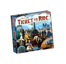 Ticket to Ride: France and Old West Expansion Map Collection 6 New