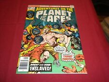 Ha1 Adventures on the Planet of the Apes #8 marvel 1976 bronze age 9.0/vf/nm