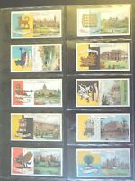 1909 John Player COUNTRY SEATS AND ARMS 1st ser set 50 cards Tobacco Cigarette