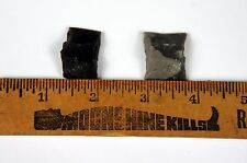 Set of TWO approx. 1 inch by ¾ inch Flintlock Musket rifle or pistol FLINTS