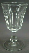 EAPG Pittsburgh / Baltimore Pressed Panel Flint Glass Wine Circa 1840-1850s