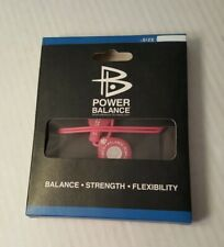 Power Balance Energy Health Necklace Pink. New with Box.