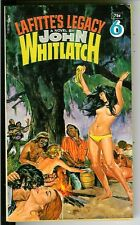 LAFITTE'S LEGACY by Whitlatch, rare US Pocket crime gga hippies pulp vintage pb