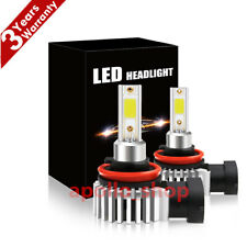 H11 LED Headlight Bulbs Kit 330000LM High Low Beam 6000K Fog Lights Super Bright