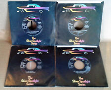 FATS DOMINO - UA / SILVER SPOTLIGHT SERIES  - (4) 45'S LOT - 2 SIDED HITS