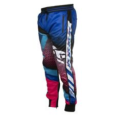 HK Army Track Jogger Pants  - Retro Blue / Pink - Large - Paintball