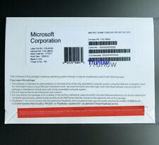 NEW Microsoft Windows 10 Pro Professional 64 Bit ENG 1pk DSP DVD & HDD