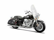 Motos miniatures noirs Harley-Davidson