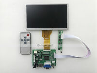 "VGA 2AV HDMI Reversing driver board + 7"" inch AT070TN92 LCD Panel 800*480"