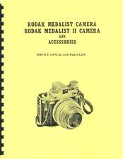 Kodak Medalist, Medalist II Camera Service Manual Reprint