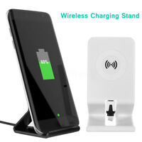 Qi Wireless Rapide Chargeur Sans Fil Induction Pour iOS Android iPhone Samsung