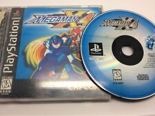 Mega Man X4 (PlayStation PS1) Black Label. Complete. Tested. FREE Shipping