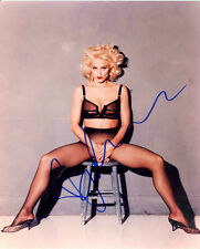 Signed  RP Madonna 8X10 Color RP Photo From Original Photo w/coa Free Shipping