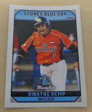 Dwayne Kemp 2018/19 Australian Baseball League card - Sydney Blue Sox