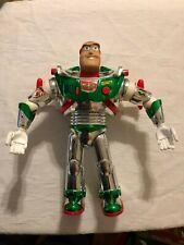 "HTF 1998 TOY STORY Buzz Lightyear HOLIDAY HERO Christmas 11"" TALKING Figure"