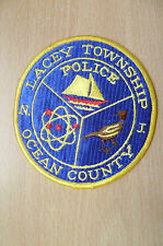 Patches: LACEY TOWNSHIP OCEAN COUNTY POLICE PATCH (New, 4.5x4.3 inch)