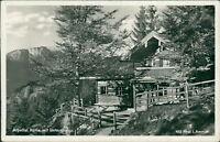 Ansichtskarte Alpeltal Hütte mit Untersberg Phot. Ammon (Nr.731)