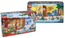 LEGO City Adventskalender Set: 60201 aus 2018 + 60235 aus 2019 Weihnachten