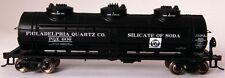 Bachmann HO Scale Train 40' Tank Car Philadelphia Quartz Company 17128
