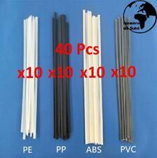 40 Baguettes de Soudure a Plastique 200mmX5mmX2mm Multi Usages  ABS / PP/PVC/PE