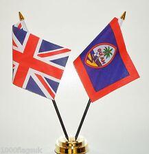 Reino Unido Gb & Estados de América EE.UU. Guam Amistad Mesa Bandera Juego
