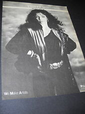 Teresa De Sio with hands on hips 1982 Promo Display Ad mint condition